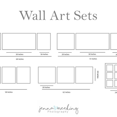 Wall Art and Frame Sets