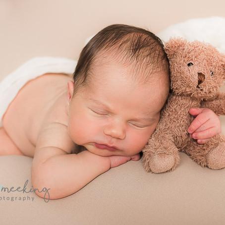 A Newborn baby Boy's Photoshoot