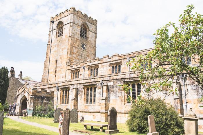 Kirkby Malham Church wedding photos