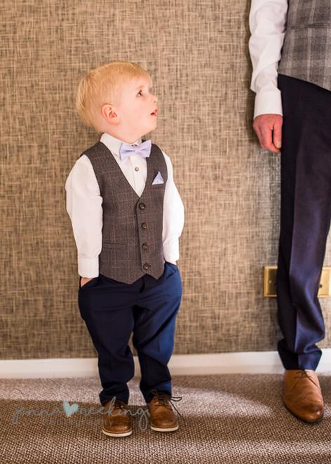 Page boy   Stirk House   Lancashire   Wedding Photography