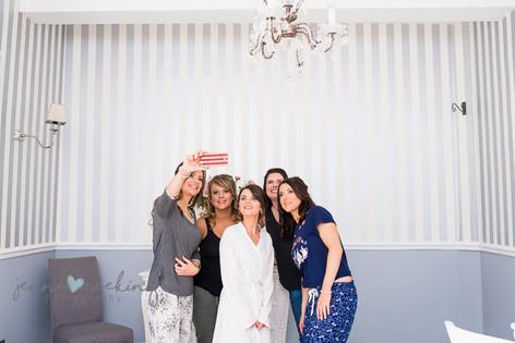Bride and Bridesmaids   Stirk House   Lancashire   Wedding Photography