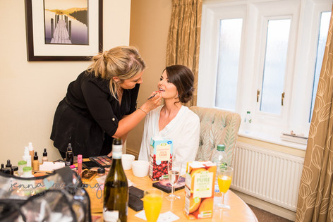 Make Up Artist   Stirk House   Lancashire   Wedding Photography