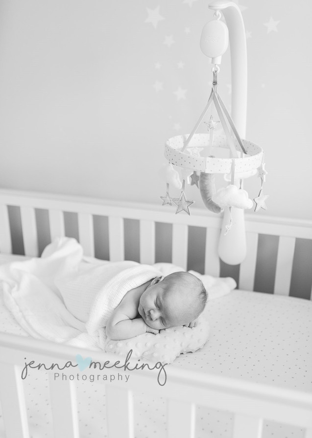 at home baby photoshoot yorkshire