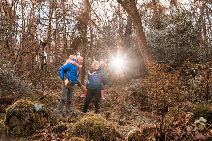 outdoor family photoshoot yorkshire ilkl