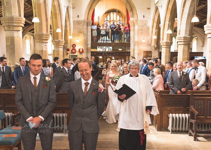 Kirkby Malham Church wedding photo