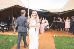 Bride photo - wedding Newton Grange
