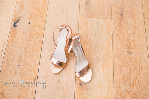 Bridesmaids shoes for wedding at natural retreats richmond yorkshire