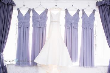 Bridesmaids Dresses | Stirk House | Lancashire | Wedding Photography
