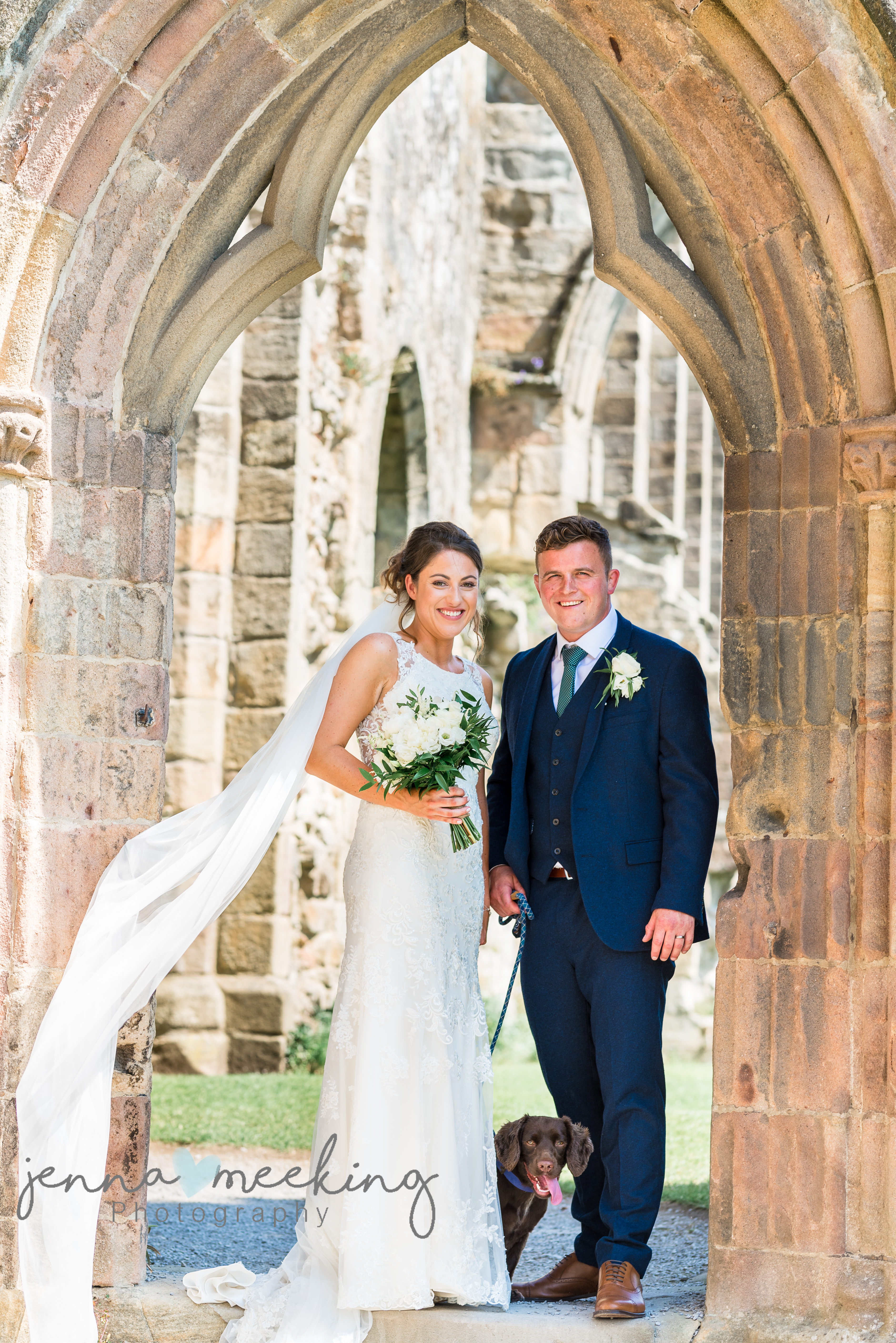 Priory Bolton Abbey Wedding Photo