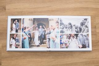 Beautiful Wedding Album designed by Jenna Meeking