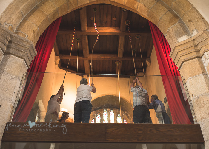 Kirkby Malham Church bell ringers
