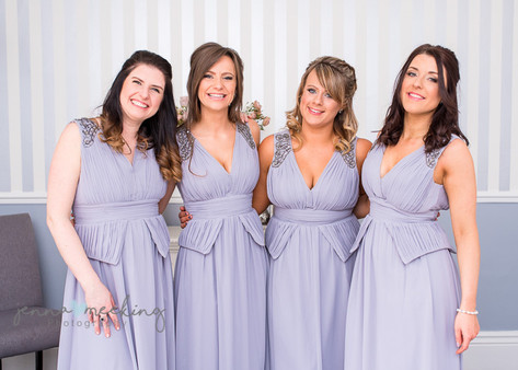 Bride and Bridesmaids | Stirk House | Lancashire | Wedding Photography