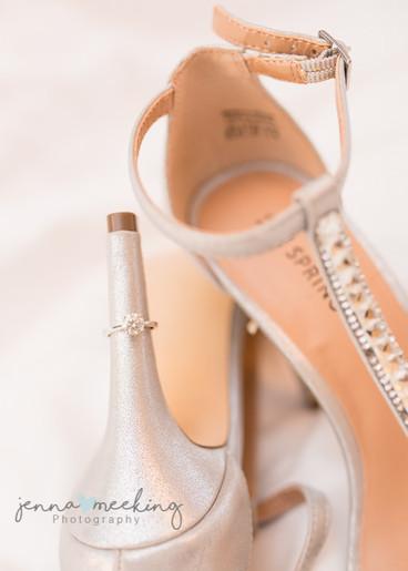 Wedding Shoes | Stirk House | Lancashire | Wedding Photography