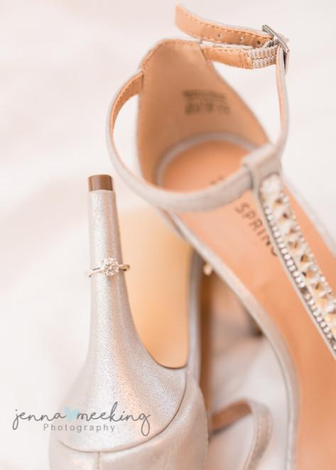 Wedding Shoes   Stirk House   Lancashire   Wedding Photography