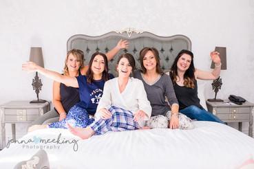 Bride and Bridesmaids | Stirk House | Lancashire | Wedding Photography