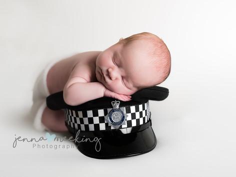Newborn photoshoot baby leeds yorkshire
