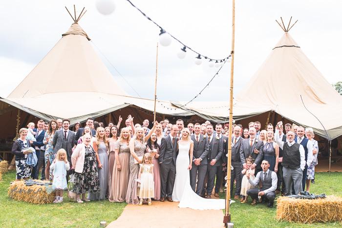 Newton grange wedding days tipi hire