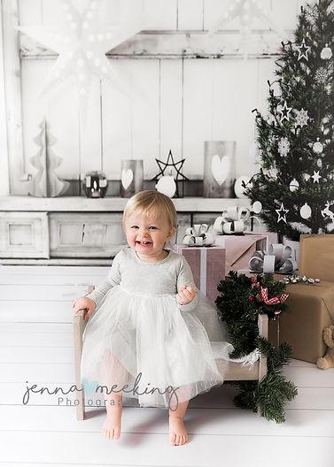 christmas mini photoshoot leeds yorkshir