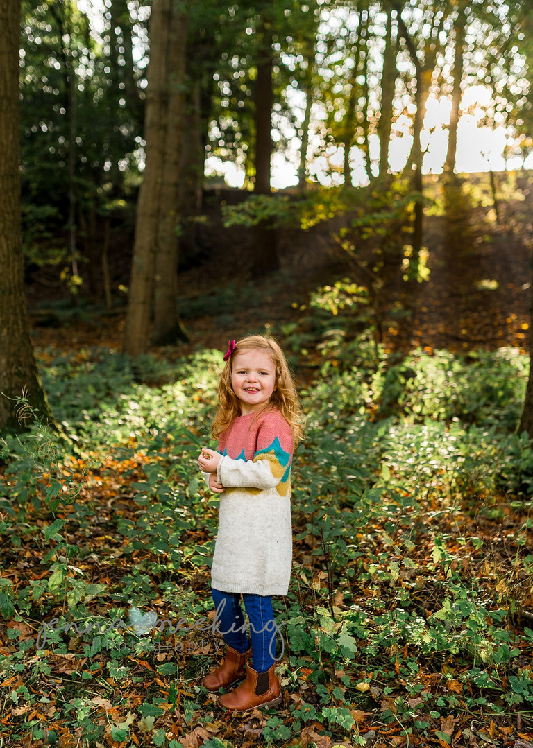 outdoor family photoshoot natural leeds