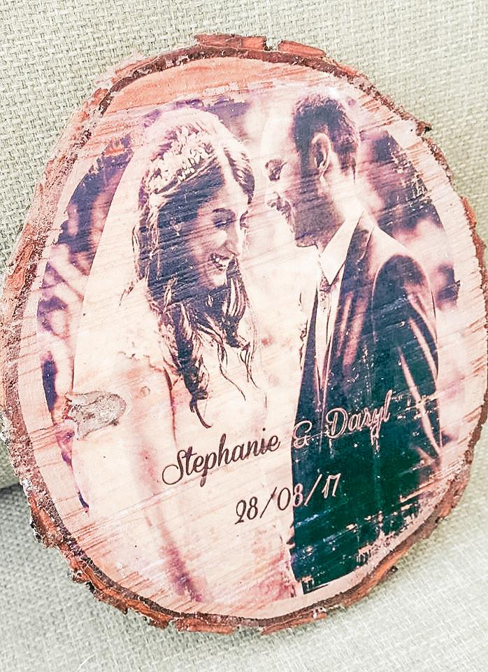 Rustic wedding photo prints yorkshire