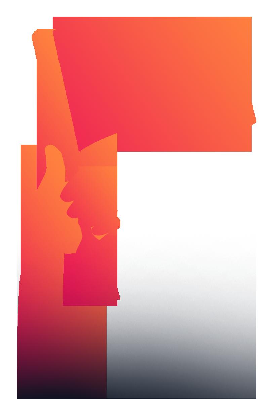 Captain For Restaurants Flag Logo