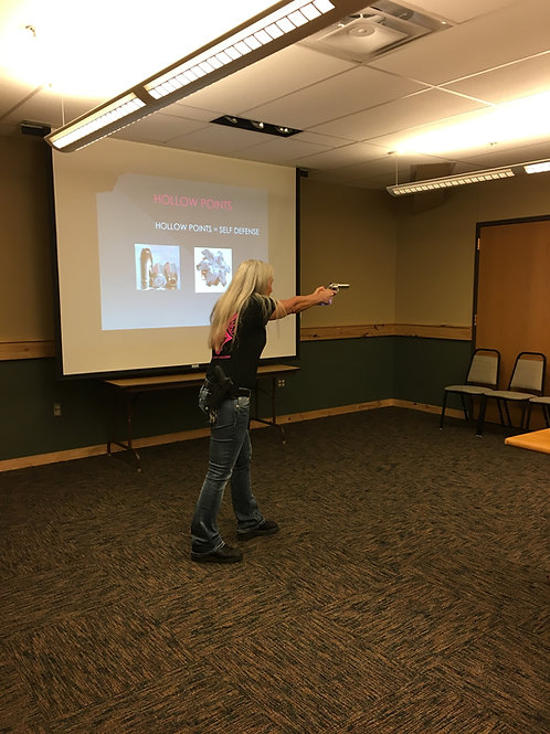 Evergreen Sportsman's Club Women's Basic Introduction to Handguns
