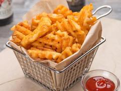 Yummy waffle fries