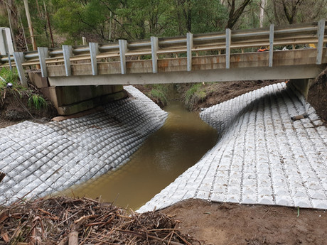 Bridge Abdutment - Colac Otway Shire Council