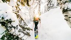 Skitouring Siberia