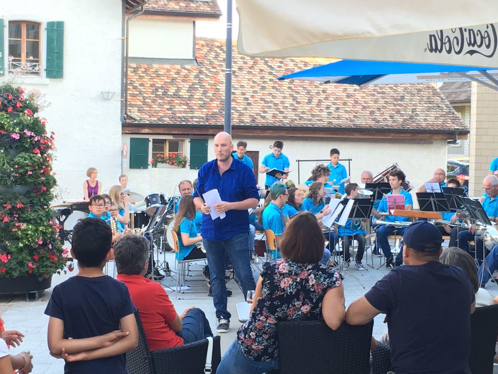 Concert place du village 2018