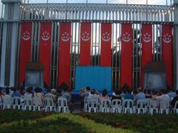 刘三姐在总统府花园 1