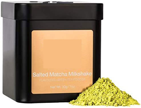 yellowish matcha can artificially flavoured