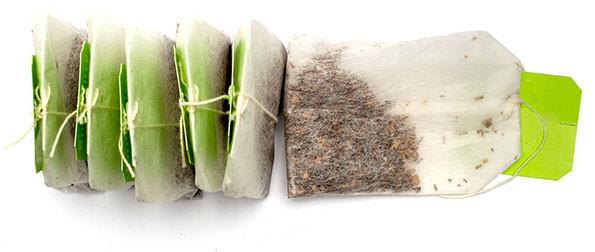 CTC teas contained in paper teabags with a green tag