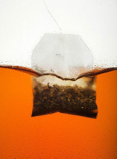 teabag in water brewing