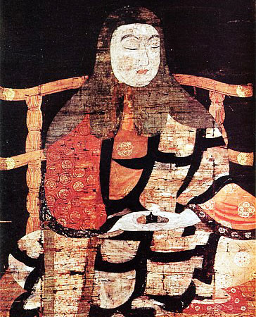 monk saicho painting