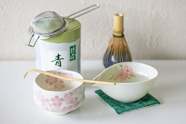 chawan yuzamashi chasen matcha strainer naoshi