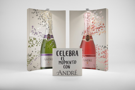 Andre Sparkling Wine Event Graphics