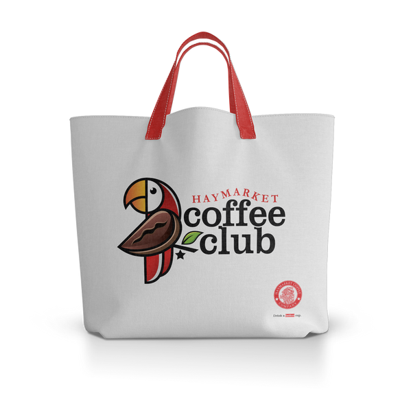 Haymarket Coffee Club Tote Bag