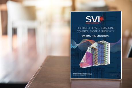 SVI Table Signage