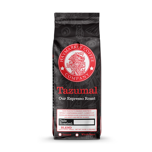 Haymarket Coffee Tazumal Espresso Roast