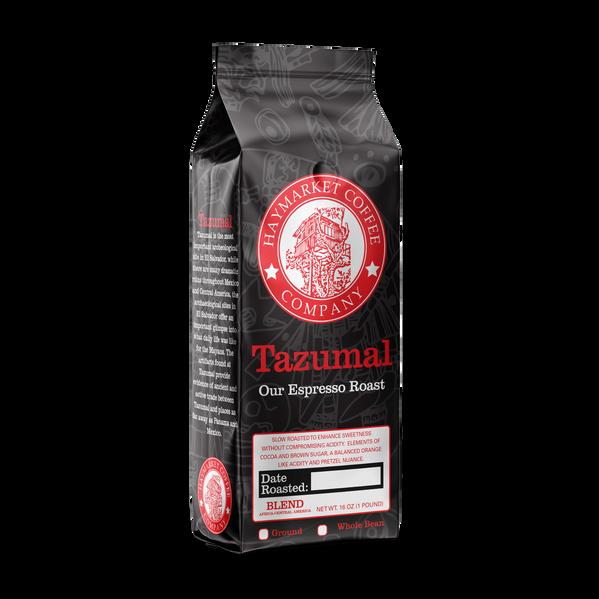 HCC Tazumal Espresso Roast Coffee Bag