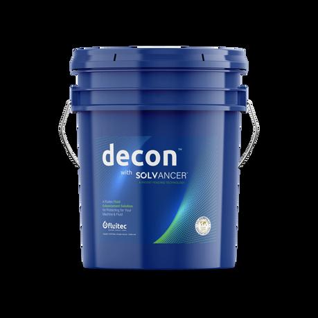 Fluitec DECON Pail Label