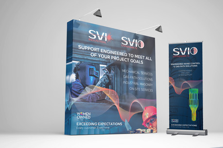 SVI Event Pop-Up Display and Banner