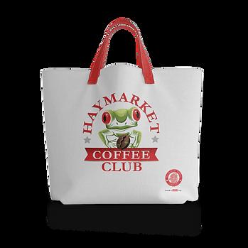 Haymarket Coffee Club Tote Bag - Frog.pn