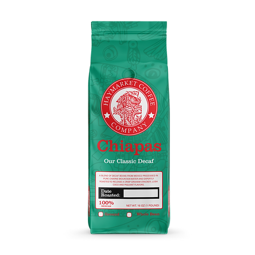 CHIAPAS DECAF - 1 LB Bag