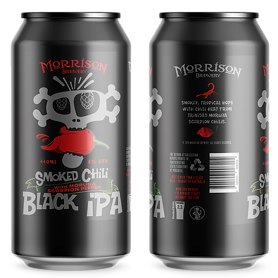 Morrison Smoked Chili Black IPA 440ml Ca