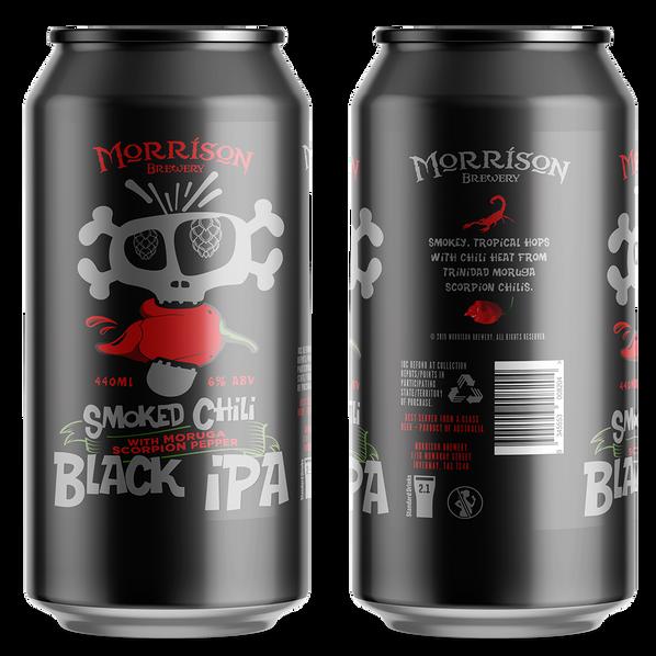 Morrison Smoked Chili Black IPA 440ml