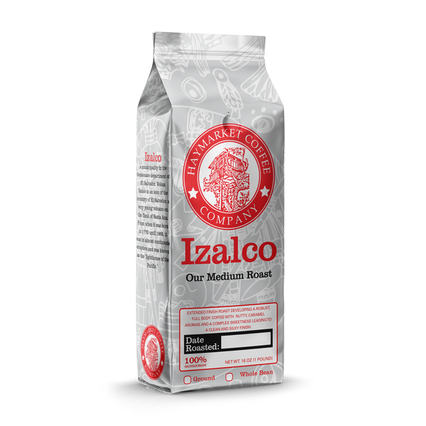 HCC Izalco Medium Roast Coffee Bag