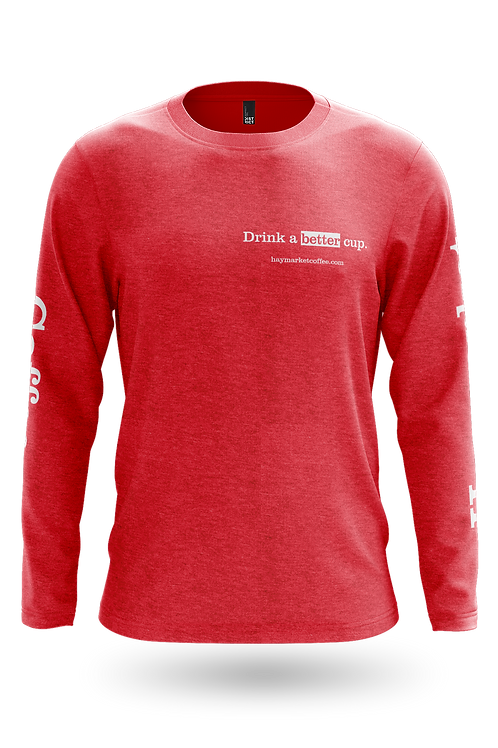 Drink a better cup longsleeve shirt