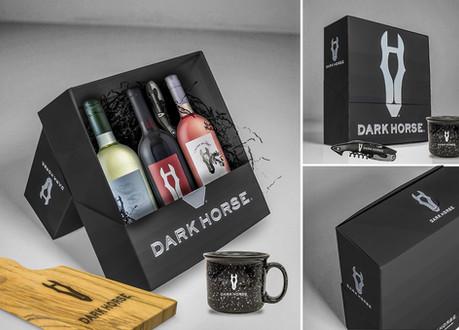 Mockup Influencer Kits for Darkhorse Wine